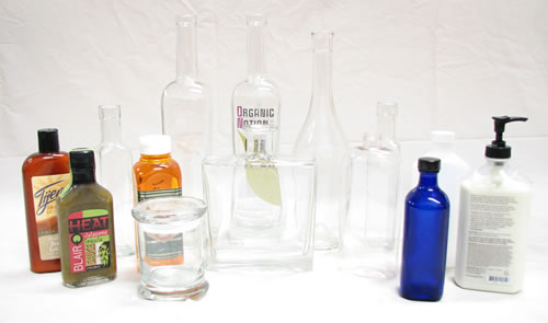 Examples of bottles for our Model rltc-dw